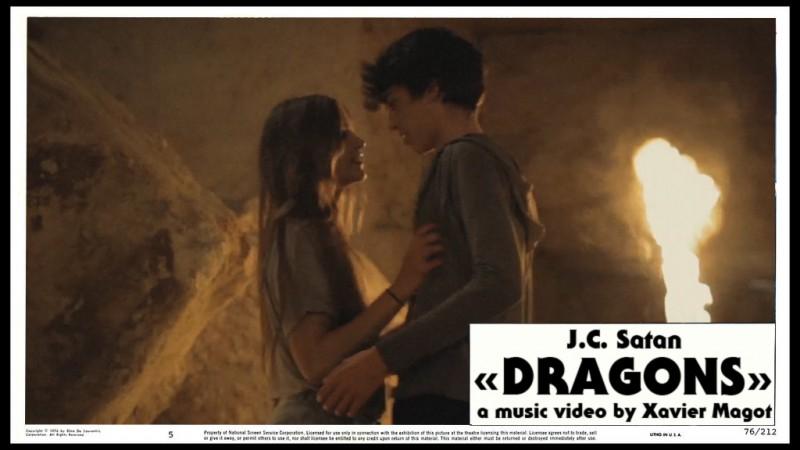 "J.C Satan ""Dragons"" by Xavier Magot"