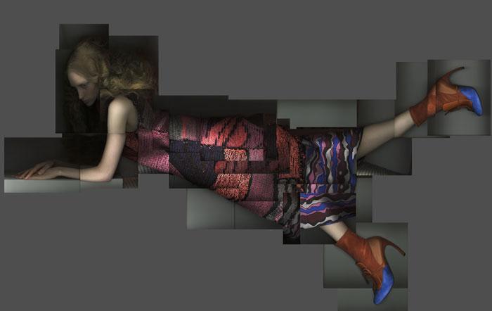 Katerina Jebb for Galeries Lafayette
